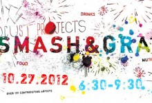 Smashing and Grabbing at Locust Project's 2012 Fall fundraiser