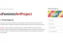 new Regional Coordinator for The Feminist Art Project
