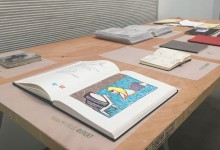 Flip Out: Artists' Sketchbooks on view at Girls' Club Annex